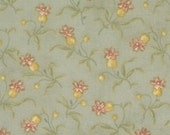 Old Primrose Inn - Moda Fabric - 2643 -15 - Basil - Green - Blackbird Designs - quilting fabric- cotton