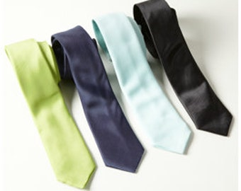 Boys or Men's Standard Neck Tie for Ring Bearer or Groomsmen