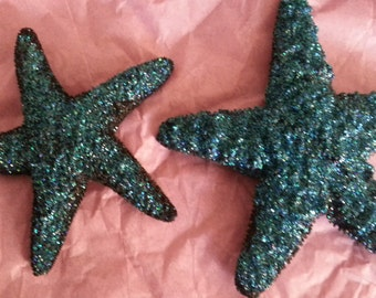 Starfish, mermaid, Black starfish, tropical wedding, bridal, starfish barrette, starfish hair clip, fish, ocean clip,beach, mermaid