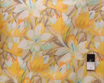 Martha Negley PWMN057 Farmington Crocus Pastel Cotton Fabric 1 Yard
