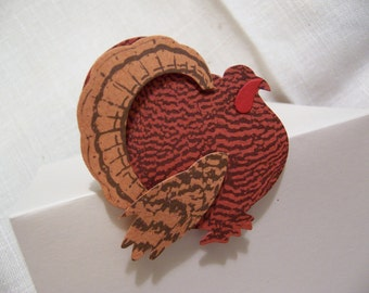 little turkey place cards