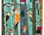 Woodpeckers 11x14 print