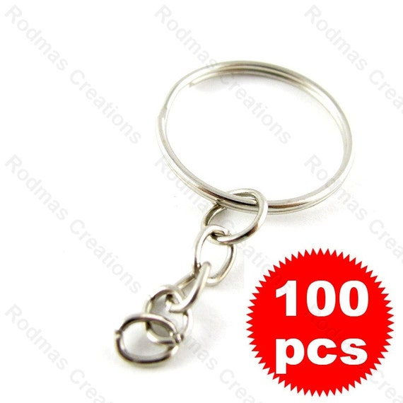 Key Chain with Split Ring - 100 pieces - 20mm