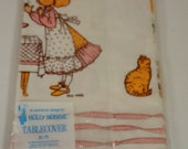 Vintage Holly Hobbie Party Tablecover