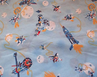 Unavailable listing on etsy for Moon fleece fabric