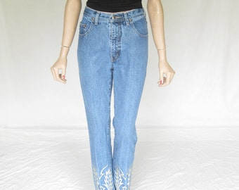 Vintage 80s High Rise MOM JEANS. Size 27