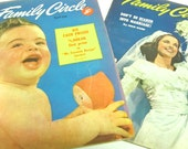 lot of 2 1948 Family Circle magazines