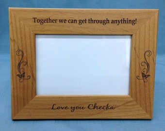 Personalized Picture Frame 5x7