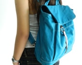 HAPPY NEW YEAR Sale  - 25% off   // Tanya in Teal // Backpack / Satchel / Rucksack / Laptop / Tote / Women/ For Her / For Him