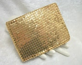 Whiting & Davis Gold Mesh Wallet - Vintage 50s - Like New