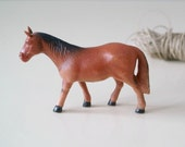 Vintage Toy Celluloid Mule, Vintage Animal Figurine, Collectible, Barnyard Animal, Collectibles