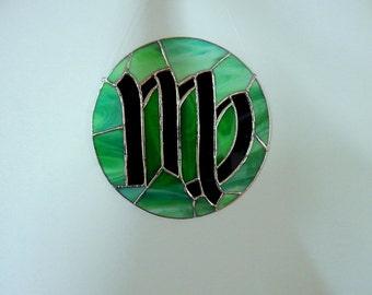 Virgo Zodiac Sign - Stained Glass