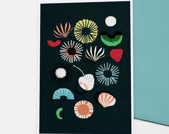 Seaflower card