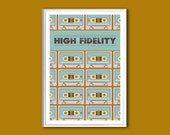 Movie poster High Fidelity 12x18 inches print