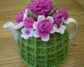 Two Crochet Tea Cosy Teacozy Cozy Patterns  (instant downloads)