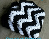 PATTERN ONLY chevron dish cloth pattern, instant download