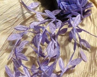 Lavender leaf garland 3 yards