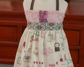 Paris Market.......Ellie....Halter......Tunic .....2T.... Ready to Ship ....