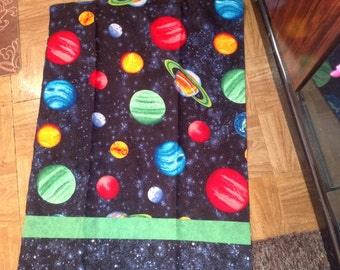 Space/planets  pillowcase