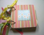 Spring Mini Scrapbook Album, Spring Mini Album, Easter Mini Album, Easter Photo Album, Easter Brag Book, Spring Photo Album, Easter