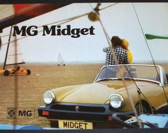 1975 MG Midget  Sales Brochure