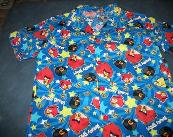ANGRY BIRDS Shirt  size 2, 3, 4, or 5