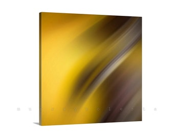 Contemporary Art, Yellow Orange Canvas, Modern Art, Abstract Art, Ready to Hang, Orange Art, Stretched Canvas, Canvas Wrap, Giclee Canvas