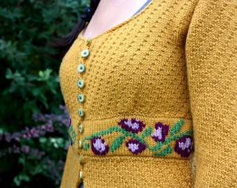 Mrs.Warford Gorgeous Women's Seamless Cardigan KNITTING PATTERN PDF