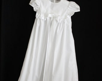 Baby Christening Dress with Ruffles