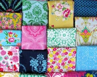 Jennifer Paganelli 56x64 Random Patchwork Minky Blanket or Throw made to order