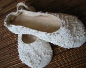Beaded Bridal Ballet Flats (shoo-shis)