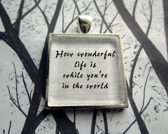 Your Song by Elton John Song Lyric Song Lyric Pendant