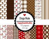 DigitalScrapbooking-DogsRule-InstantDownload