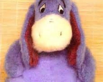Knitting Patterns For Disney Toys : Disney Eeyore Toy Knitting Pattern ~ with 2 extra patterns FREE