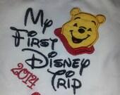 Winnie The Pooh My First Disney Trip t-Shirt