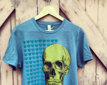 To Die For Organic Cotton TShirt- Stormy Blue