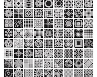 1 to 100 Overlaps (18x24)