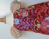 Little Girls peasant top - Amy Butler Love prints - available in szs 1, 2,  3, 4 and 5