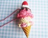 Ice Cream Charm Necklace