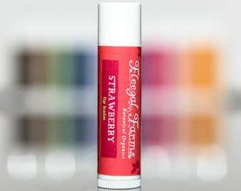 Strawberry  Natural  Lip Balm