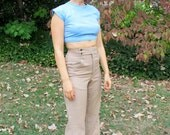 Vintage High Waisted Trousers - Size Small