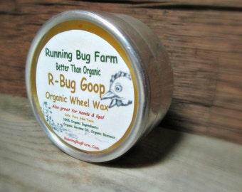 R-Bug Goop Knitters Lotion Hand & Lip Balm Wheel Wax Furniture Polish Fragrance Free Hand Cream Natural Non GMO Cruelty Free Chemical Free