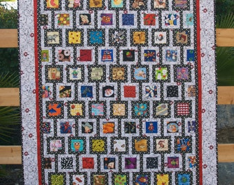 I Spy Quilt Pattern, Digital Download