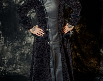 The Steampunk Time Bandit Trench Coat CUSTOM