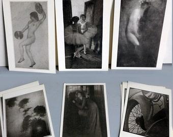 Early Photography Postcards Adolf de Meyer, Edward Steichen, Clarence H White, Paul Strand, Arnold Genthe, William Dyer, Robert Demachy