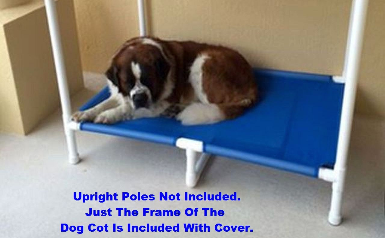 Heavy duty extra large dog bed 1 1 2 pvc pipe 1 for Pvc cat bed