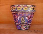 Enjoyment of Life Pysanka Designs Pottery 6x6