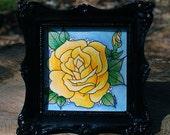 Yellow Rose or Texas Original by Cora Rountree