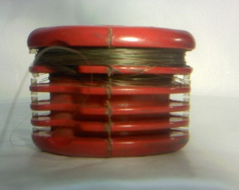 Bakelite holder etsy for Fishing line holder
