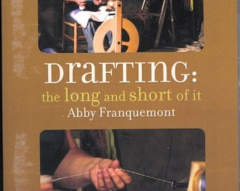 Drafting the Long and  Short  of it  by ABbby Franquemont Dvd